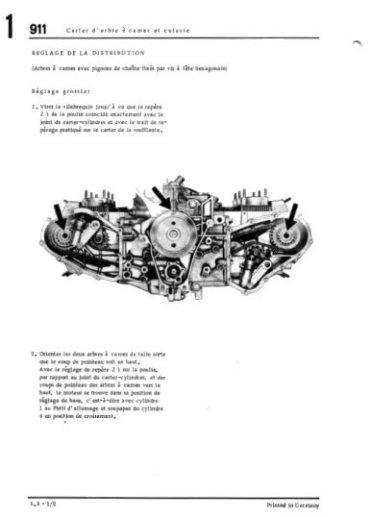 porsche 911  u2013 1972-1983  2 4  2 7 et 3 litres   u2013 fran u00e7ais