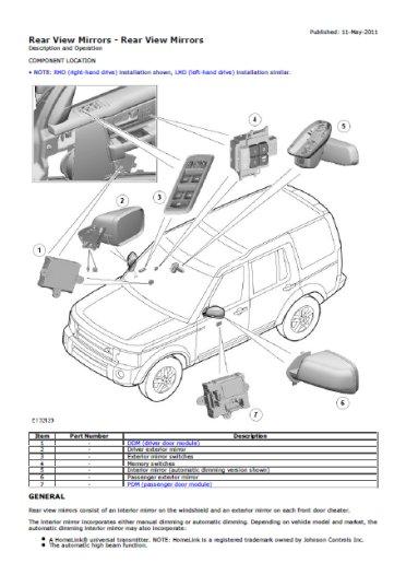 land rover discovery 4 - 2009 - 2012 - anglais