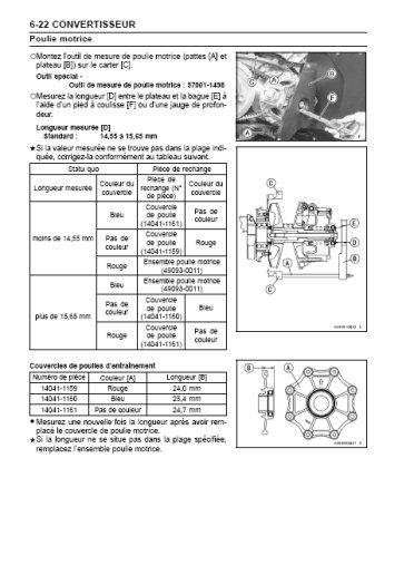 kawasaki kvf 650    brute force 650 - 2005 - 2006