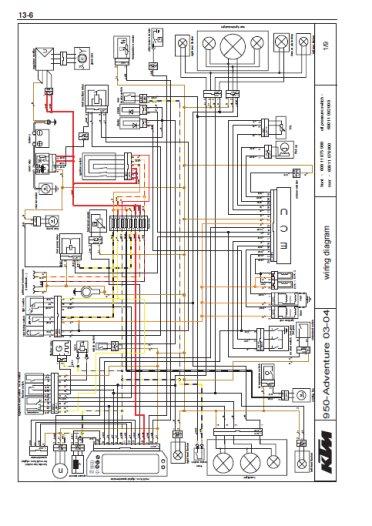 ktm 950 super enduro wiring diagram ktm supermoto wiring