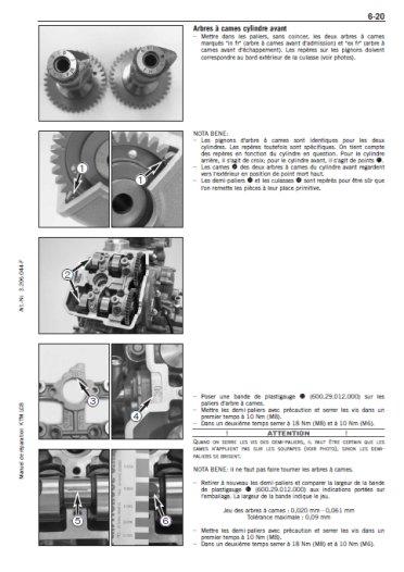 ktm lc8 - 2003 - 2013 - fr