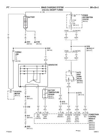 Schema electrique chrysler pt cruiser